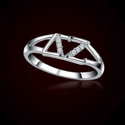 Delta Zeta Sorority Ring - GSTC-R001