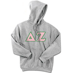 Delta Zeta Standards Hooded Sweatshirt - $25.99 Gildan 18500 - TWILL