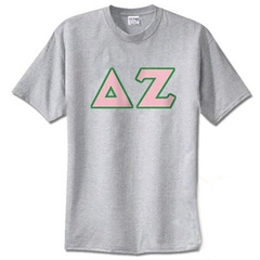 Delta Zeta Standards T-Shirt - $14.99 Gildan 5000 - TWILL
