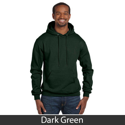 Delta Kappa Epsilon Champion Hooded Sweatshirt - Champion S700 - TWILL