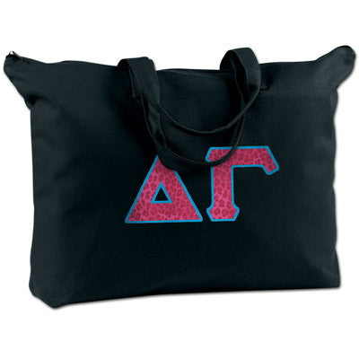 Delta Gamma Shoulder Bag - Bag Edge BE009 - TWILL;