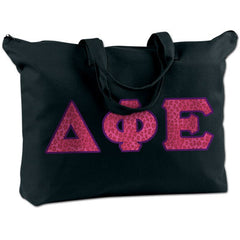 Delta Phi Epsilon Shoulder Bag - Bag Edge BE009 - TWILL