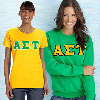 Sorority Custom Printed Crewneck and T-Shirt Pack - DIG
