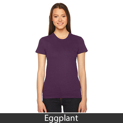 Sigma Delta Tau Embroidered Jersey Tee - American Apparel 2102 - EMB
