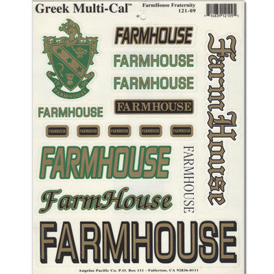 Farmhouse Multi-Cal Sticker