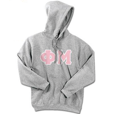 Phi Mu Standards Hooded Sweatshirt - $25.99 Gildan 18500 - TWILL