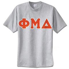 Phi Mu Delta Standards T-Shirt - $14.99 Gildan 5000 - TWILL