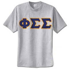 Phi Sigma Sigma Standards T-Shirt - $14.99 Gildan 5000 - TWILL