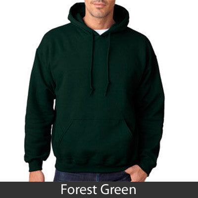 Zeta Psi Hooded Sweatshirt - Gildan 18500 - TWILL