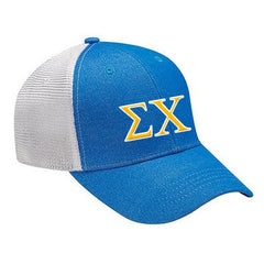 Fraternity Knockout Cap with Two Color Embroidery - Adams KN102 - EMB