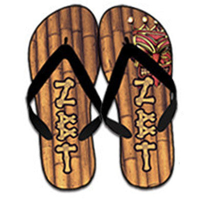 Fraternity Bamboo Print Flip-Flops - SBL100 - SUB