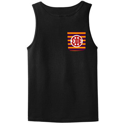 Fraternity Crocket Tank Top - Gildan 2200 - SUB