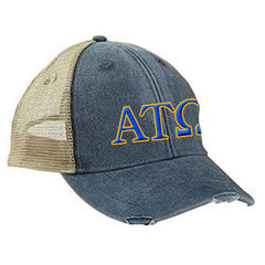 Fraternity Ollie Cap with Two Color Embroidery - Adams OL102 - EMB