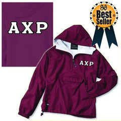 Fraternity Pullover Jacket - Charles River 9905 - TWILL