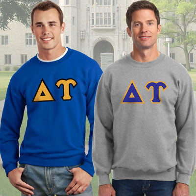 Delta Upsilon Crewneck Sweatshirt Package - Gildan 12000 - TWILL