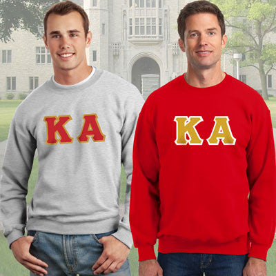 Kappa Alpha Crewneck Sweatshirt Package - Gildan 12000 - TWILL