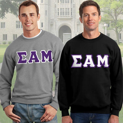 Sigma Alpha Mu Crewneck Sweatshirt Package - Gildan 12000 - TWILL