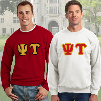 Psi Upsilon Crewneck Sweatshirt Package - Gildan 12000 - TWILL