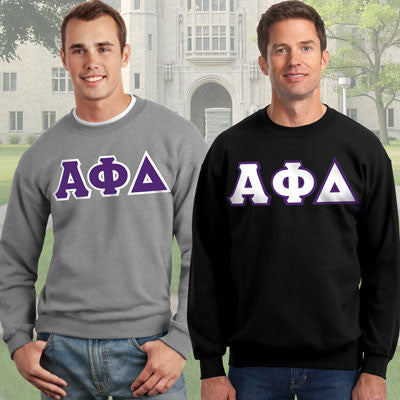 Alpha Phi Delta Crewneck Sweatshirt Package - Gildan 12000 - TWILL
