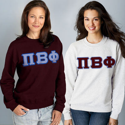 Pi Beta Phi Crewneck Sweatshirt Package - Gildan 12000 - TWILL