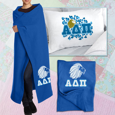 Alpha Delta Pi Pillowcase / Blanket Package - CAD