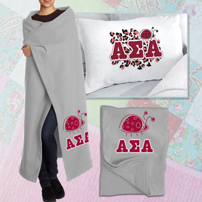 Alpha Sigma Alpha Pillowcase / Blanket Package - CAD
