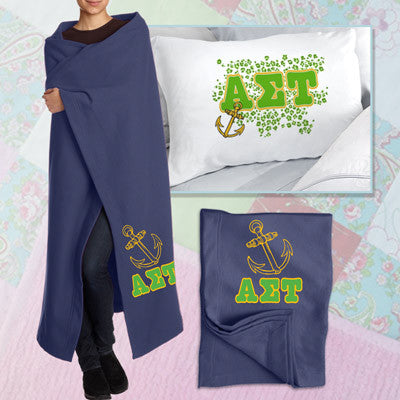 Alpha Sigma Tau Pillowcase / Blanket Package - CAD