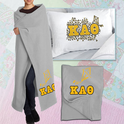 Kappa Alpha Theta Pillowcase / Blanket Package - CAD