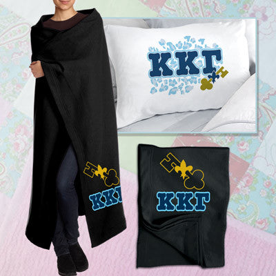 Kappa Kappa Gamma Pillowcase / Blanket Package - CAD