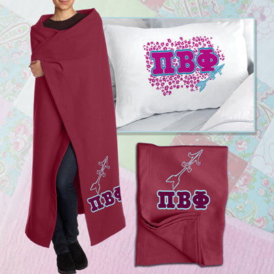 Pi Beta Phi Pillowcase / Blanket Package - CAD
