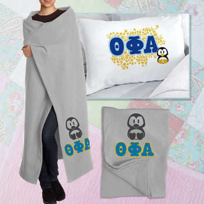 Theta Phi Alpha Pillowcase / Blanket Package - CAD
