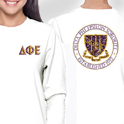 Sorority Distressed Crest Design - SUB