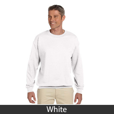 Alpha Sigma Phi Fraternity Standards Crewneck Sweatshirt - Gildan 18000 - Twill