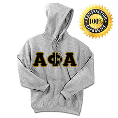 Alpha Phi Alpha Standards Hooded Sweatshirt - $25.99 Gidlan 18500 - TWILL