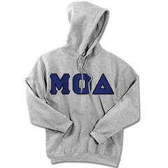 Mu Omicron Delta Fraternity Hooded Sweatshirt