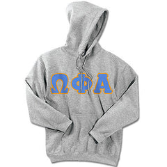 Omega Phi Alpha Sorority Hooded Sweatshirt