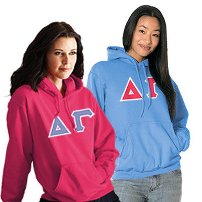 Sorority 2 Hooded Sweatshirts Special - 2 for 1 - Gildan 18500 - TWILL