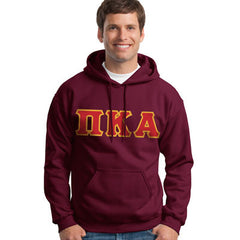 Pi Kappa Alpha Hooded Sweatshirt - Gildan 18500 - TWILL