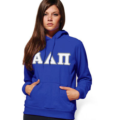 Alpha Delta Pi Hooded Sweatshirt - Gildan 18500 - TWILL