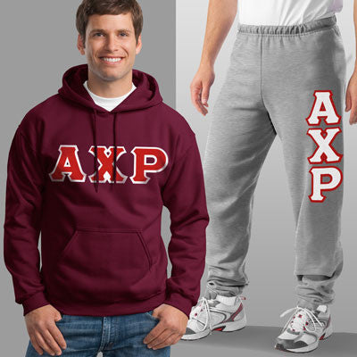Alpha Chi Rho Hoody / Sweatpant Package - TWILL