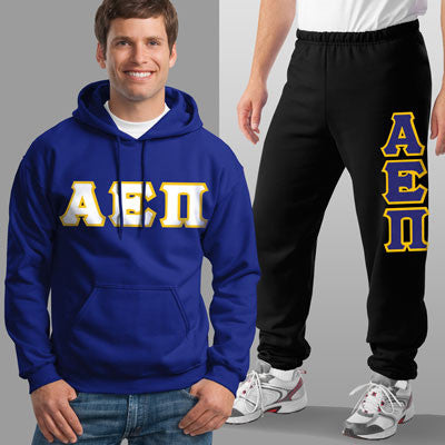 Alpha Epsilon Pi Hoody / Sweatpant Package - TWILL