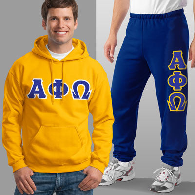 Alpha Phi Omega Hoody / Sweatpant Package - TWILL