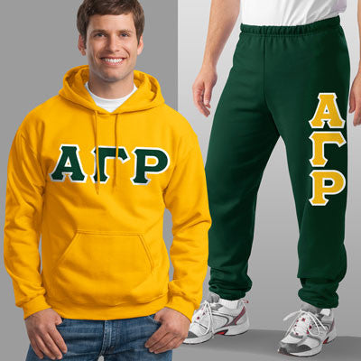 Alpha Gamma Rho Hoody / Sweatpant Package - TWILL