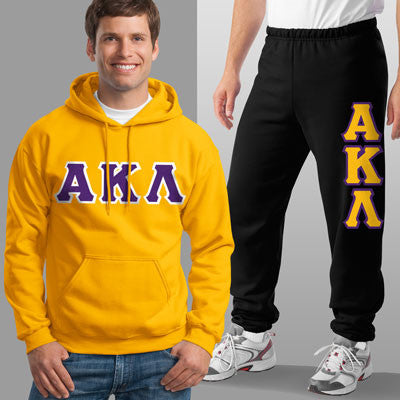 Alpha Kappa Lambda Hoody / Sweatpant Package - TWILL