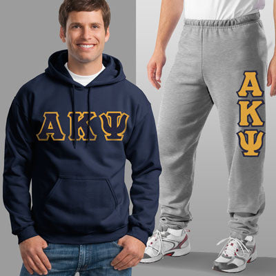 Alpha Kappa Psi Hoody / Sweatpant Package - TWILL