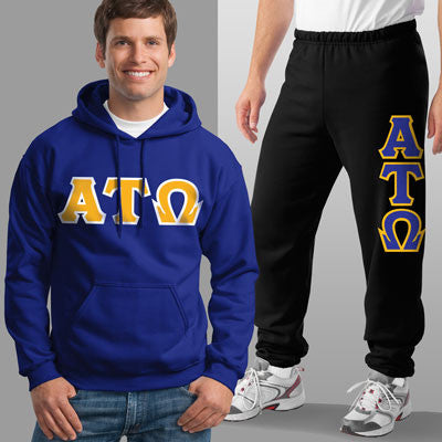 Alpha Tau Omega Hoody / Sweatpant Package - TWILL