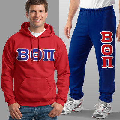 Beta Theta Pi Hoody / Sweatpant Package - TWILL