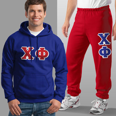 Chi Phi Hoody / Sweatpant Package - TWILL