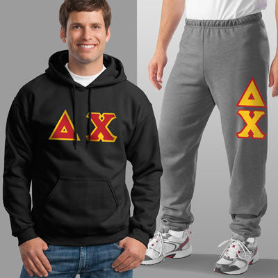 Delta Chi Hoody / Sweatpant Package - TWILL