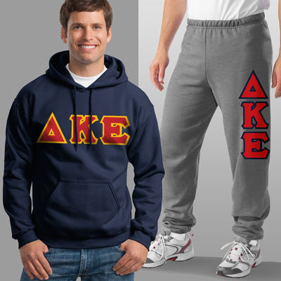 Delta Kappa Epsilon Hoody / Sweatpant Package - TWILL